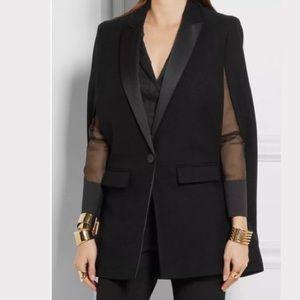 🎁DKNY cape blazer size large new